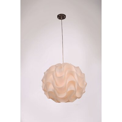 Lynetta 1-Light Globe Pendant Size: 82 H x 24 W x 24 D