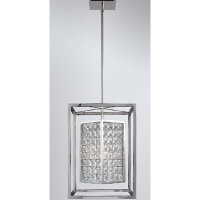 Structure 3-Light Foyer Pendant