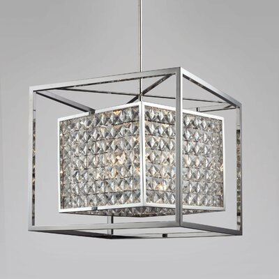 Structure 6-Light Foyer Pendant