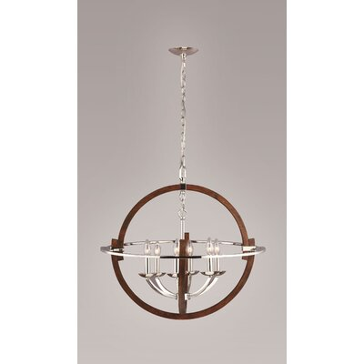 Raquel 6-Light Globe Pendant