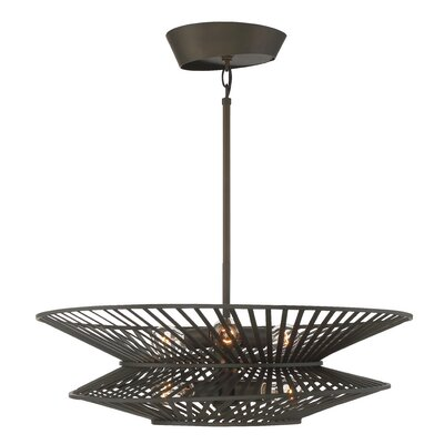 Hessler 6-Light Shaded Chandelier