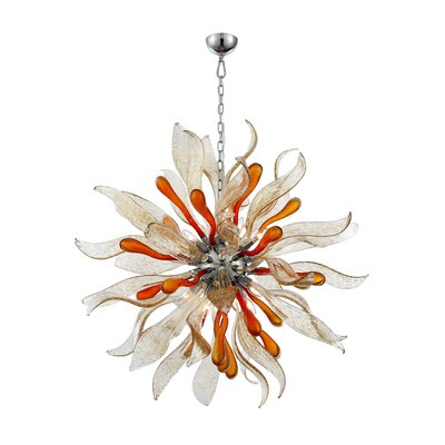 Wenger 12-Light Drum Chandelier