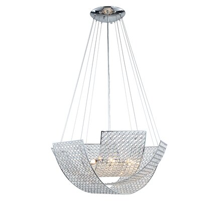 Elenora 6-Light Shaded Chandelier