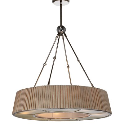 Lewie 8-Light Drum Chandelier