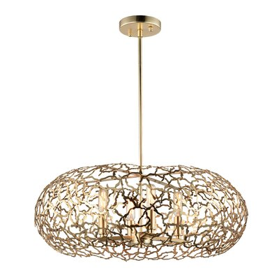 Helios 8-Light Shaded Chandelier