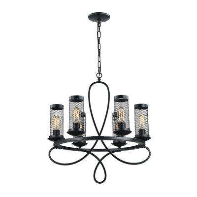 Hanut 6-Light Candle-Style Chandelier