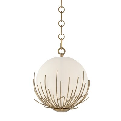 Wendt 1-Light Mini Globe Pendant