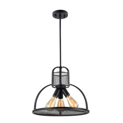 Demitri 3-Light Bowl Pendant