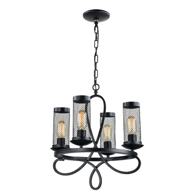 Hanut 4-Light Candle-Style Chandelier