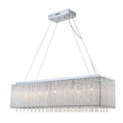 Kian 10-Light Crystal Chandelier
