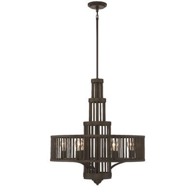 Pogson 6-Light Drum Chandelier