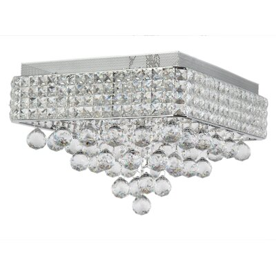 Palatial 6-Light Flush Mount
