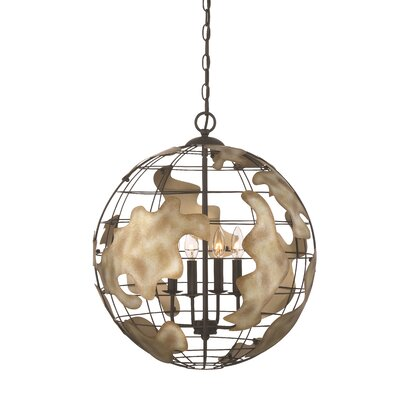 Atlas 4-Light Globe Pendant