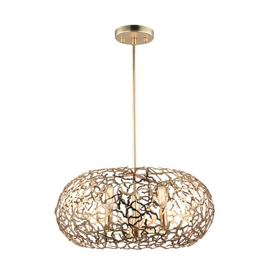 Aicha 6-Light Drum Pendant