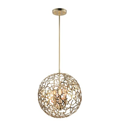 Aicha 3-Light Mini Globe Pendant