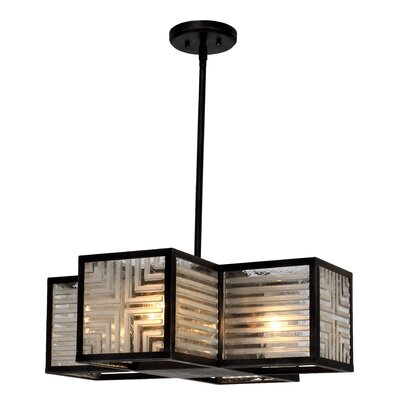 Wendel 4-Light Shaded Chandelier