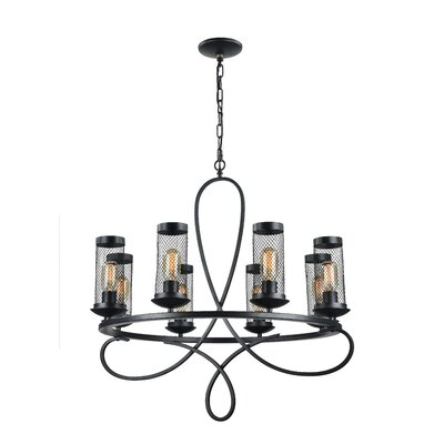 Hanut 8-Light Candle-Style Chandelier