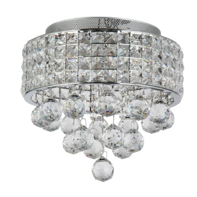 Palatial 4-Light Flush Mount