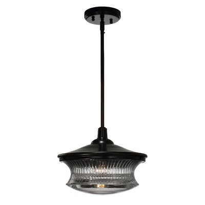 Magister 1-Light Mini Pendant Finish: Dark Bronze