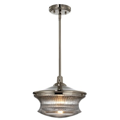 Quintal 1-Light Mini Pendant Finish: Brushed Nickel
