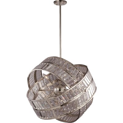 Una 8-Light Globe Pendant