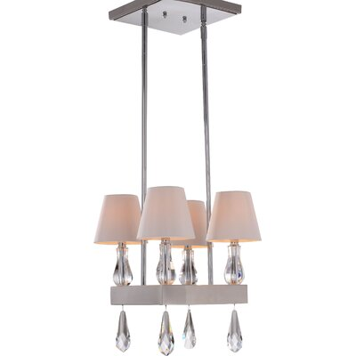 Sophia 4-Light Shaded Chandelier