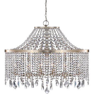 Palais 10-Light Crystal Chandelier