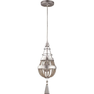 Burnham 1-Light Adjustable Foyer Pendant