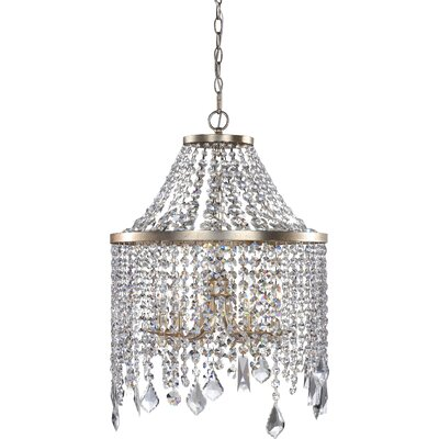Bilboroughs 6-Light Crystal Chandelier