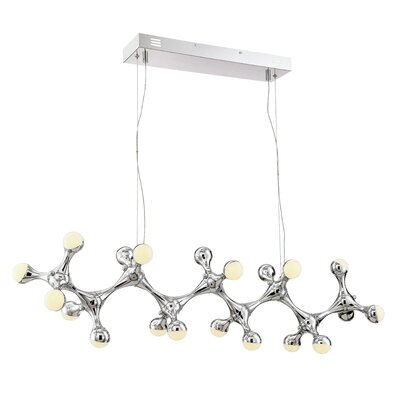 Delcid Modern 1-Light LED Cluster Pendant