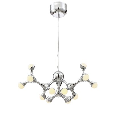 Delcid Contemporary 1-Light LED Cluster Pendant