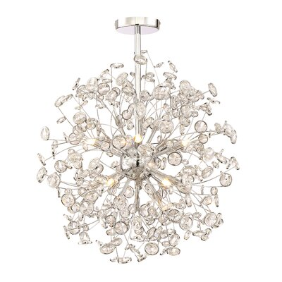 Prasoon 10-Light Cluster Pendant
