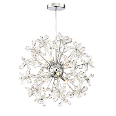 Baugher 8-Light Cluster Pendant