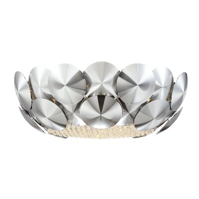 Crown 5-Light Flush Mount
