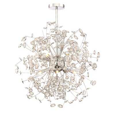 Prasoon 12-Light Cluster Pendant