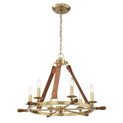 Hillendale 6-Light Candle-Style Chandelier