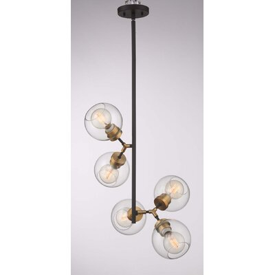 Pierre 5-Light Cluster Pendant