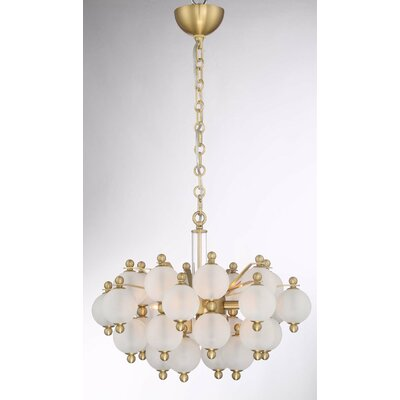 Jermain 6-Light Sputnik Chandelier