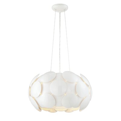 Bianco Modern 6-Light Drum Pendant