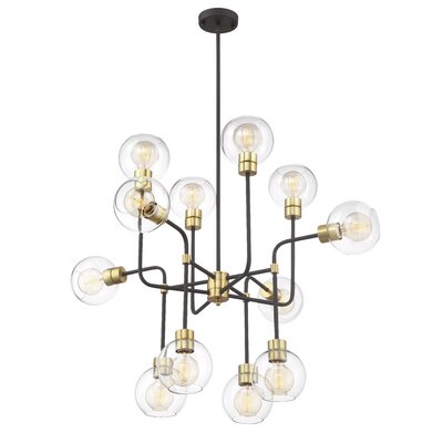 Anglin 12-Light Cluster Pendant