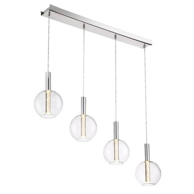 Sprouse 4-Light LED Cascade Pendant