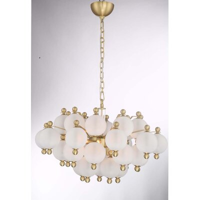 Jermain 10-Light Sputnik Chandelier