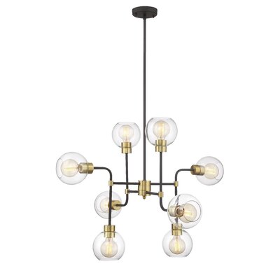 Pierre 8-Light Cluster Pendant