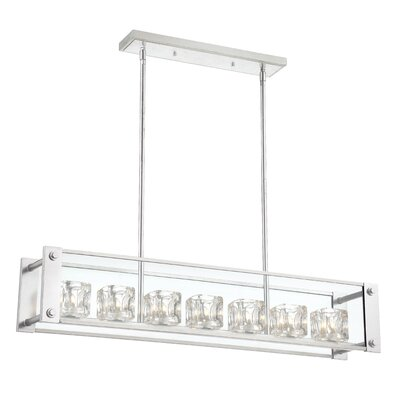 Cavern 7-Light Kitchen Island Pendant