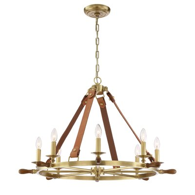 Carlisle 8-Light Candle-Style Chandelier