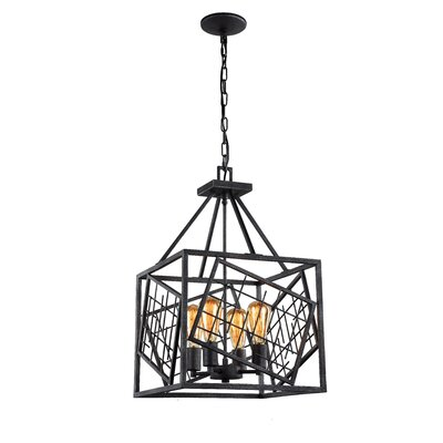 Plexus 4-Light Foyer Pendant