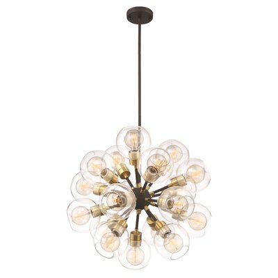 Anglin 18-Light Cluster Pendant