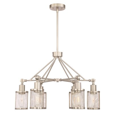Geminus 6-Light Candle-Style Chandelier