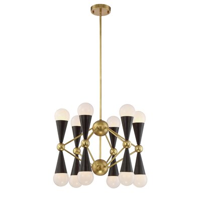 Canady 12-Light Sputnik Chandelier