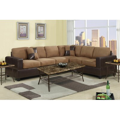 Madison Home USA 2PC SECTIONAL HAZEL Reversible Sectional Upholstery